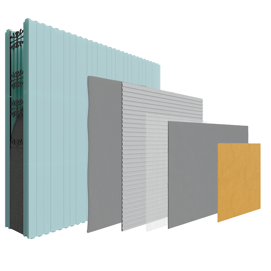 Insulated Concrete Forms (ICF) Render Only image