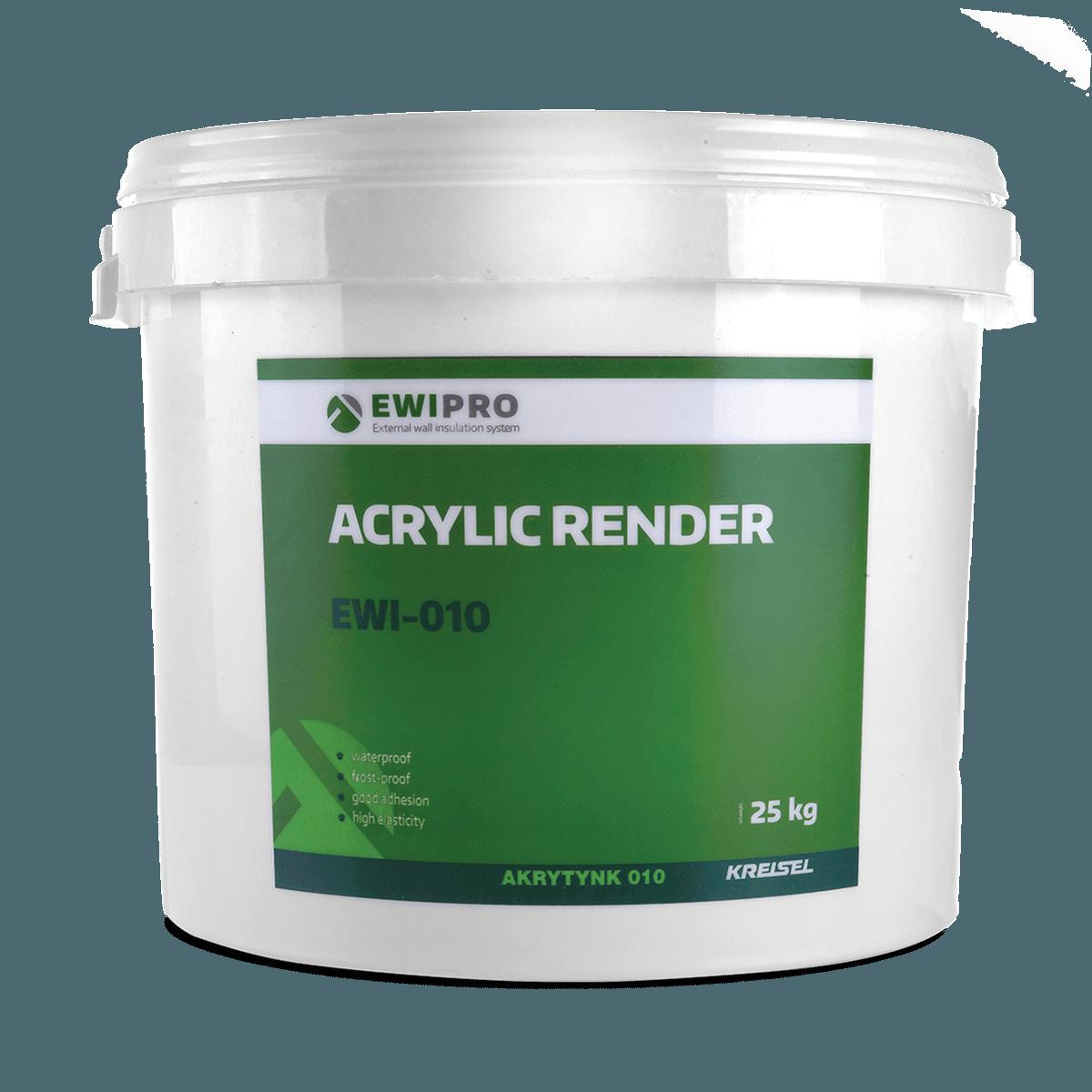 Acrylic Render EWI-010 - EWI Pro