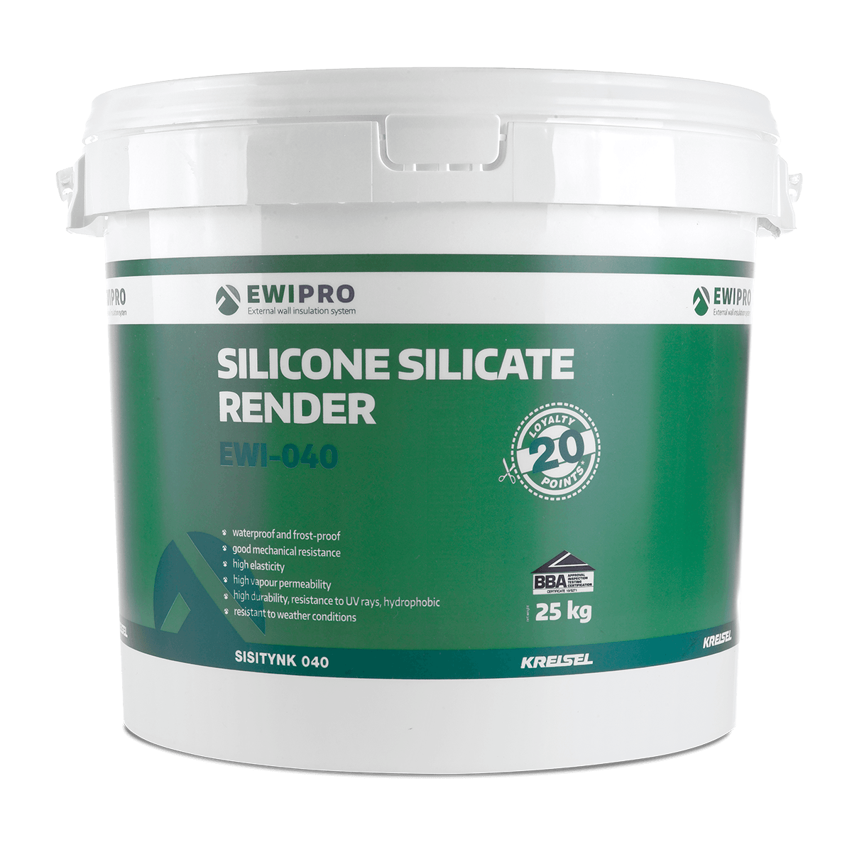 Silicone Silicate Render EWI-040 - EWI Pro Renders