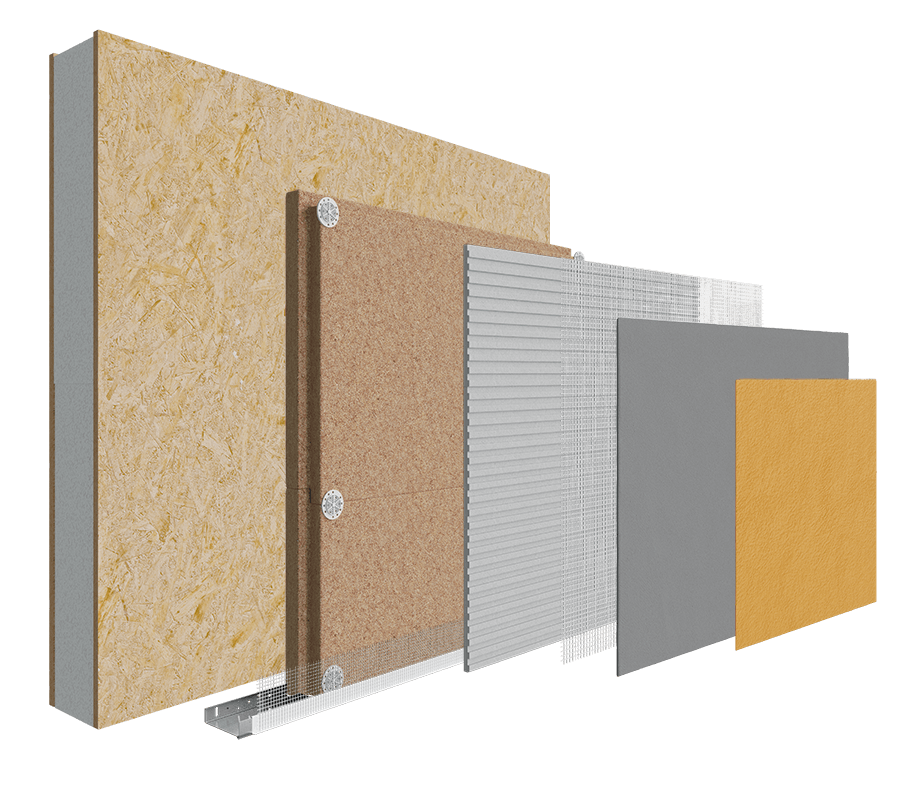 Structural Insulated Panels (SIPs) Wood Fibre System image